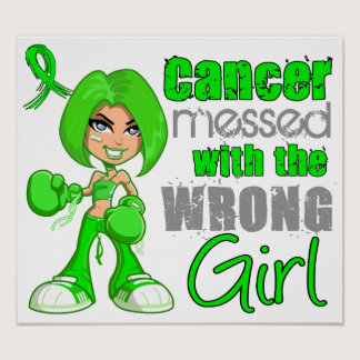 Non-Hodgkin's Lymphoma Messed With Wrong Girl.png Poster