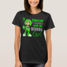 Non-Hodgkin's Lymphoma Messed With Wrong Girl.png T-Shirt