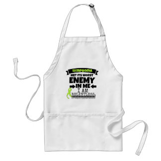 Non-Hodgkins Lymphoma  Met Its Worst Enemy.png Adult Apron