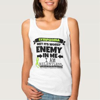Non-Hodgkins Lymphoma  Met Its Worst Enemy.png Tank Top