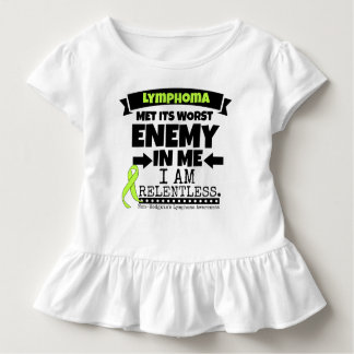 Non-Hodgkins Lymphoma  Met Its Worst Enemy.png Toddler T-shirt