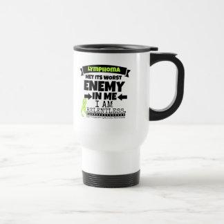 Non-Hodgkins Lymphoma  Met Its Worst Enemy.png Travel Mug