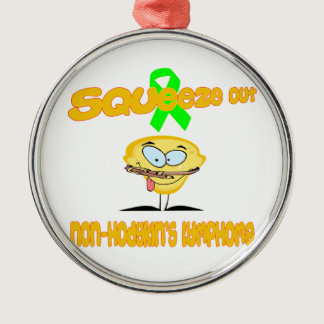 Non-Hodgkin's Lymphoma Metal Ornament