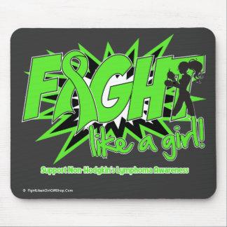 Non-Hodgkin's Lymphoma POW Fight Like A Girl Mouse Pad