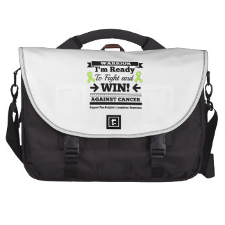Non-Hodgkins Lymphoma Ready To Fight and Win Laptop Bags