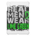 Non-Hodgkin's Lymphoma Real Men Wear Lime Green iPad Mini Cases