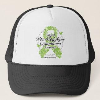 Non-Hodgkins Lymphoma Ribbon of Butterflies Trucker Hat