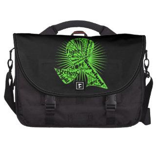 Non-Hodgkins Lymphoma Ribbon Powerful Slogans Commuter Bag