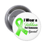 Non-Hodgkins Lymphoma Ribbon Someone Special 2 Inch Round Button