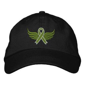 Non-Hodgkin's Lymphoma Ribbon Wings v2 Baseball Cap