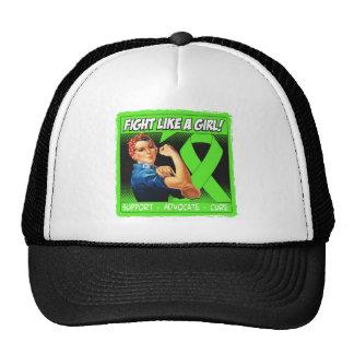 Non-Hodgkins Lymphoma Rosie Riveter FightLikeAGirl Trucker Hats