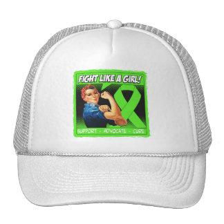 Non-Hodgkins Lymphoma Rosie Riveter FightLikeAGirl Hat