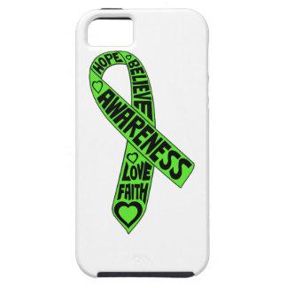 Non-Hodgkins Lymphoma Slogans Ribbon iPhone 5 Cases