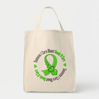 Non Hodgkins Lymphoma Someone I Care Needs A Cure Grocery Tote Bag
