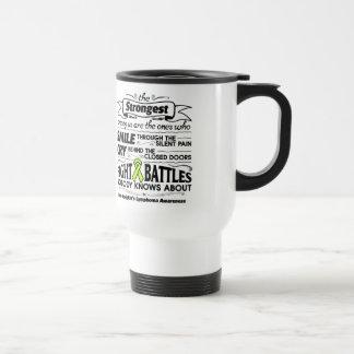 Non-Hodgkins Lymphoma Strongest Among Us Travel Mug