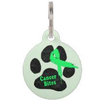 Non-Hodgkins Lymphoma Support Pet Tag