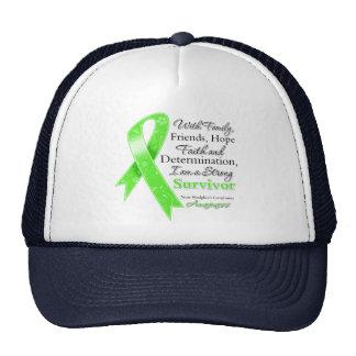 Non-Hodgkins Lymphoma Support Strong Survivor Trucker Hat