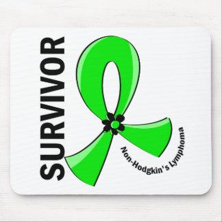 Non-Hodgkin's Lymphoma Survivor 12 Mousepads