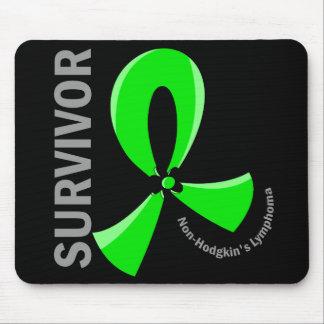 Non-Hodgkin's Lymphoma Survivor 12 Mousepad