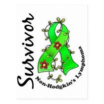 Non-Hodgkin's Lymphoma Survivor 15 Postcard