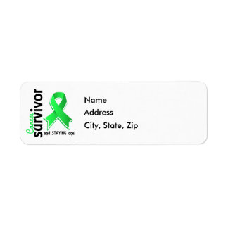 Non-Hodgkin's Lymphoma Survivor 19 Label