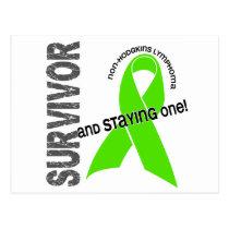 Non-Hodgkin's Lymphoma Survivor 1 Postcard