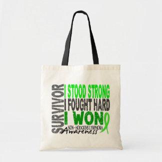 Non-Hodgkin's Lymphoma Survivor 4 Budget Tote Bag