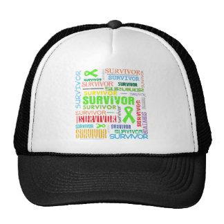 Non-Hodgkins Lymphoma Survivor Collage.png Trucker Hat