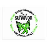 Non-Hodgkin's Lymphoma Survivor Hope Determination Post Cards