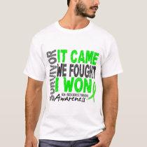 Non-Hodgkins Lymphoma Survivor It Came We Fought T-Shirt