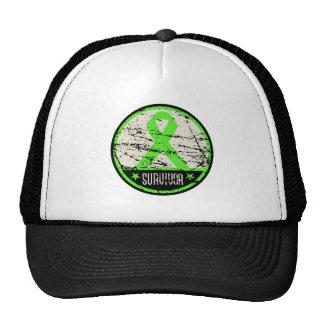 Non-Hodgkin's Lymphoma Survivor Mens Vintage Trucker Hat