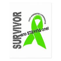 Non-Hodgkins Lymphoma Survivor Postcard