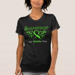 Non Hodgkins Lymphoma Survivor Tribal Ribbon Tee Shirts