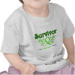 Non Hodgkins Lymphoma Survivor Tribal Ribbon Shirts