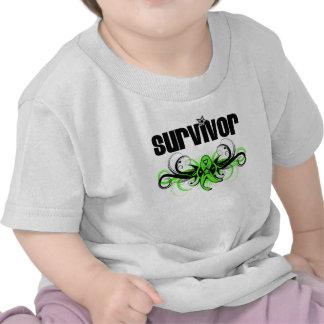 Non-Hodgkins Lymphoma Survivor Wing Emblem T-shirt