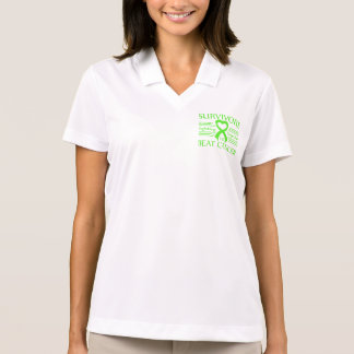 Non-Hodgkins Lymphoma Survivors Fighting Together Polo T-shirts