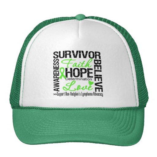Non Hodgkins Lymphoma Survivors Motto Trucker Hat