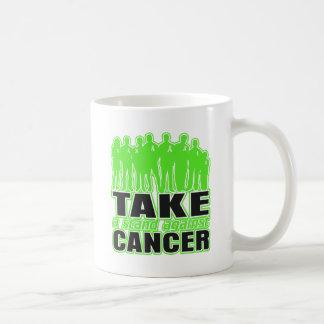 Non-Hodgkins Lymphoma -Take A Stand Against Cancer Classic White Coffee Mug