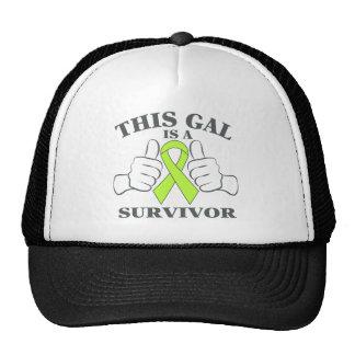 Non-Hodgkins Lymphoma This Gal is a Survivor Trucker Hat
