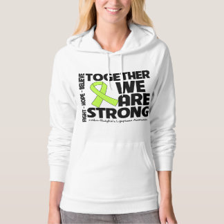 Non-Hodgkins Lymphoma Together We Are Strong.png Hoodie