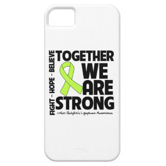 Non-Hodgkins Lymphoma Together We Are Strong.png iPhone 5 Case
