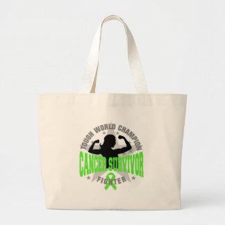 Non-Hodgkin's Lymphoma Tough Survivor Canvas Bag