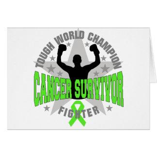 Non-Hodgkins Lymphoma Tough World Champion Survivo Greeting Card