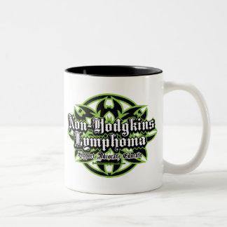 Non-Hodgkins Lymphoma Tribal Two-Tone Coffee Mug