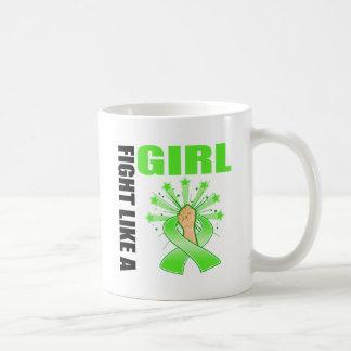 Non-Hodgkin's Lymphoma Victory Fight Like A Girl Classic White Coffee Mug