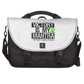 Non-Hodgkins Lymphoma Victory is My Mantra Commuter Bag