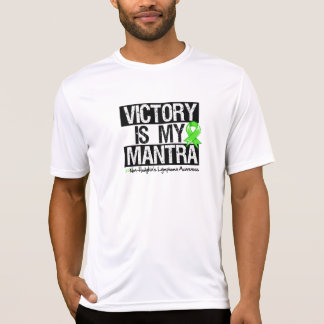 Non-Hodgkins Lymphoma Victory is My Mantra T-shirts