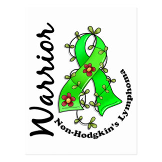 Non-Hodgkin's Lymphoma Warrior 15 Postcard