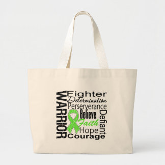Non Hodgkins Lymphoma Warrior Collage Tote Bags