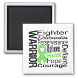 Non Hodgkins Lymphoma Warrior Collage Refrigerator Magnet
